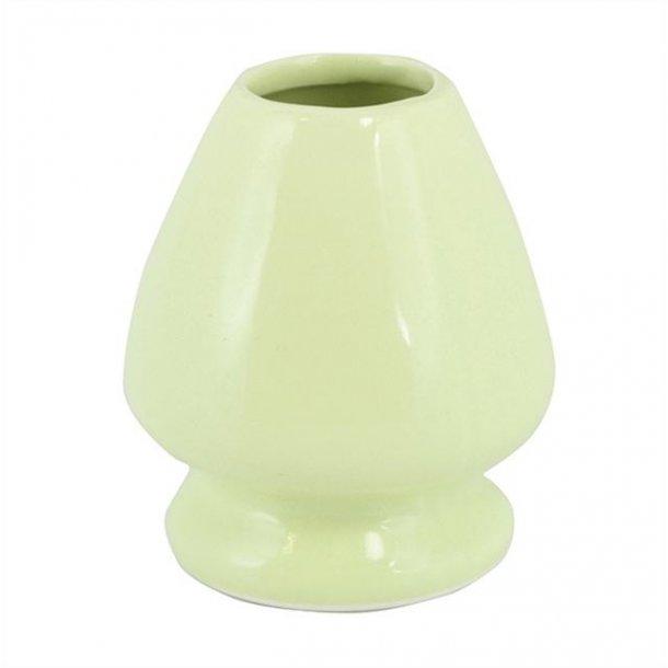 Matcha Chasen Holder  Japanese Style - lys grønn
