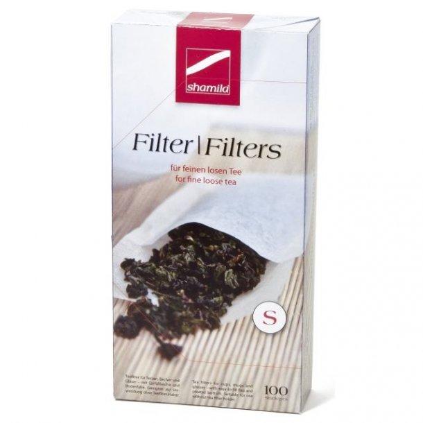 Shamila® TRUE Flavour tefilter (hvit), størrelse S - 100 stk